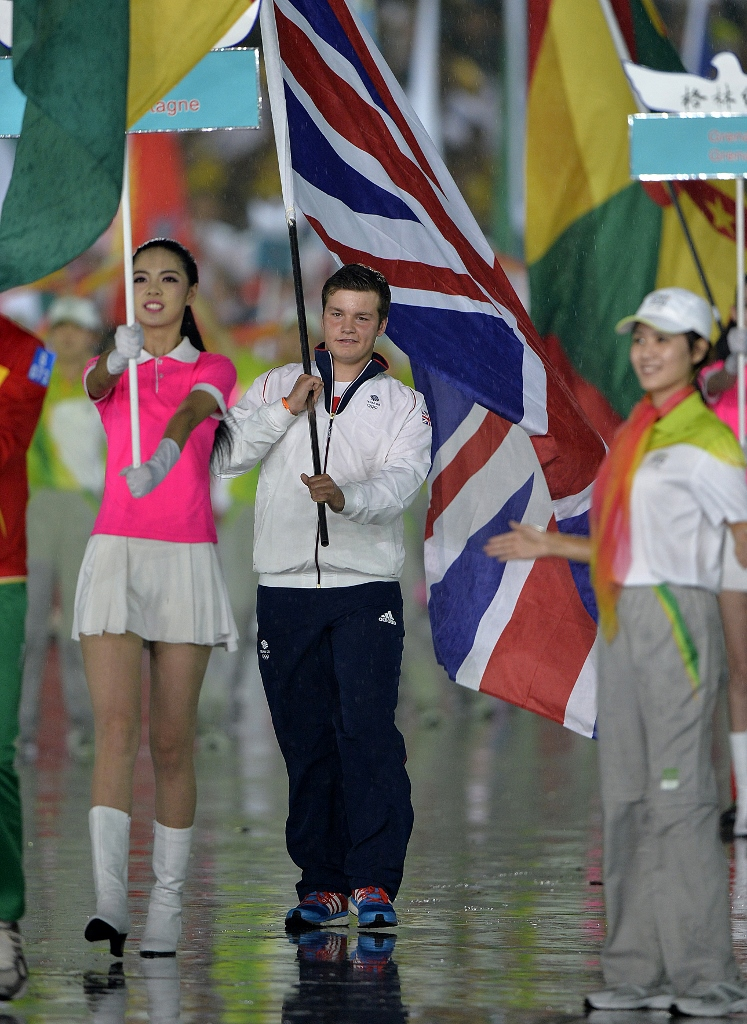 Nanjing 2014, Youth Olympic Games. Opening Ceremony.