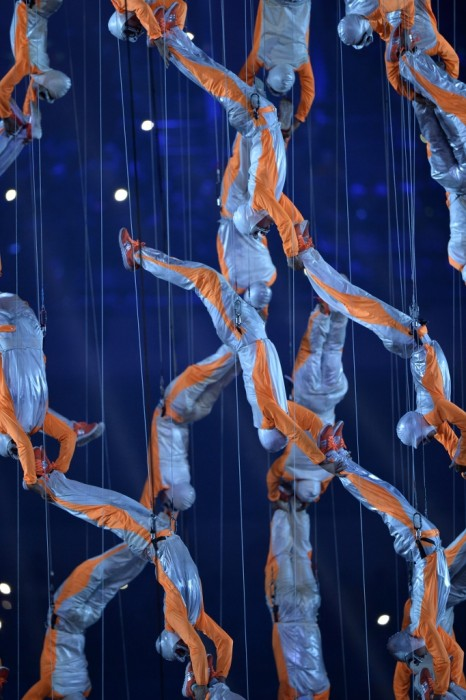 A dazzling and gravity defying Opening Ceremony